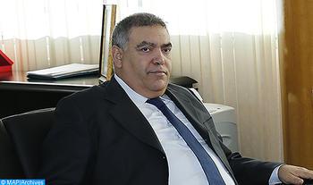 El ministro de Interior recibe al nuevo representante especial del SG de la ONU y jefe de la Minurso