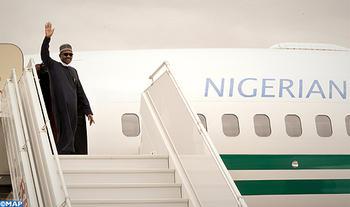 El presidente nigeriano abandona Marruecos