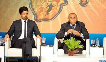 El presidente de la CAF insta a apoyar la candidatura de Marruecos para Mundial de Fútbol de 2026