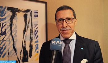 El embajador Hilale: El proceso político no debe hipotecar el desarrollo del Sahara marroquí