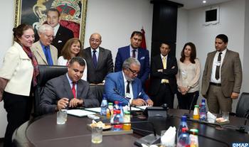 Firmado en Rabat un memorando de entendimiento entre la MAP y el Holding Marita Group sobre el desarrollo del proyecto de International Media City