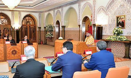 SM el Rey preside en Casablanca un Consejo de Ministros