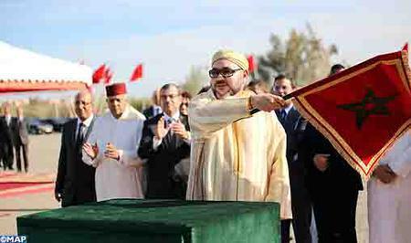 SM el Rey lanza en Marrakech las obras de ordenación de la urbanización El Goumi para el realojo de 1.199 familias chabolistas