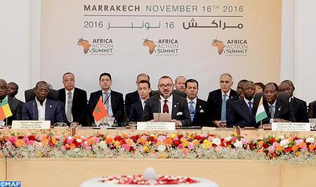 Texto íntegro del discurso de SM el Rey en la Cumbre Africana de la Acción en Marrakech
