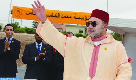 SM el Rey lanza las obras de construcción de dos centros médicos en la medina de Marrakech