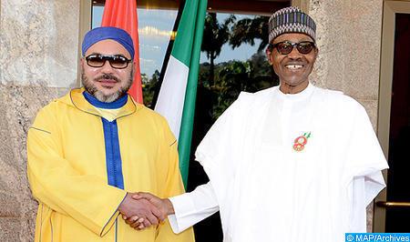 SM el Rey mantiene una entrevista telefónica con el presidente de la República Federal de Nigeria (Gabinete Real)