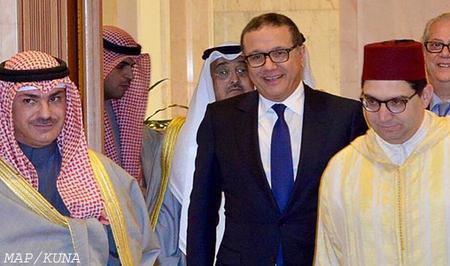 Mensaje escrito de SM el Rey al Emir de Kuwait