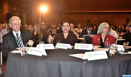 SAR la Princesa Lalla Hasnaa, invitada de honor de la novena edición del Congreso Mundial de Educación Ambiental (WEEC) en Vancouver