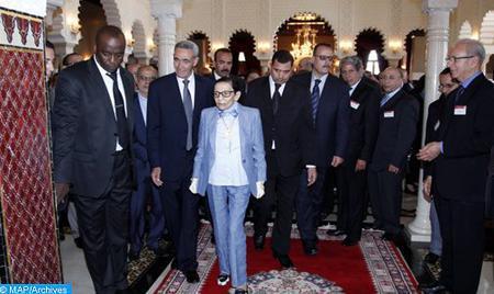 SAR la Princesa Lalla Malika preside una recepción ofrecida por SM el Rey con motivo del Día Mundial de la Cruz Roja y de la Media Luna Roja