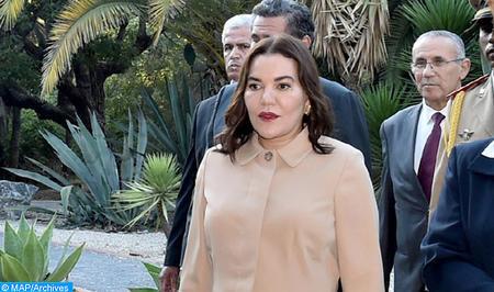 SAR la Princesa Lalla Hasnaa inaugura el Parque Hassan II de Rabat