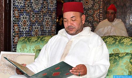 SM el Rey, Amir Al Muminin, preside en Rabat la primera charla religiosa del mes de Ramadán