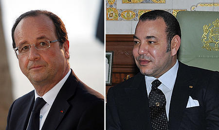 SM el Rey y el presidente francés visitan en el IMA la exposición Tesoros del Islam en África, de Tombuctú a Zanzíbar