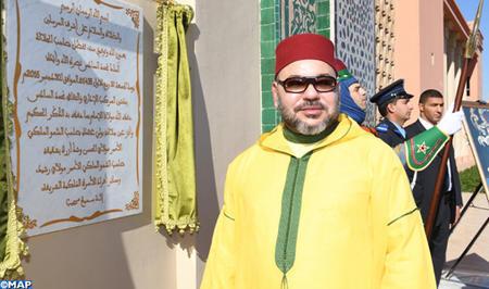 SM el Rey inaugura en Marrakech el complejo administrativo y cultural Mohammed VI de Habices