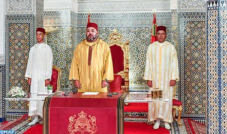 SM el Rey dirige un discurso a la Nación con motivo del 64 aniversario de la Revolución del Rey y del Pueblo