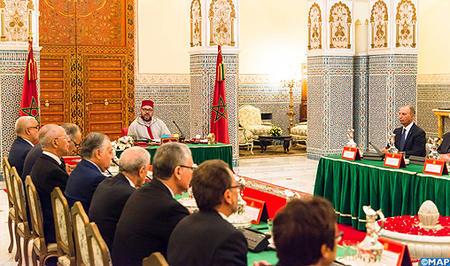 SM el Rey preside en Marrakech un Consejo de Ministros