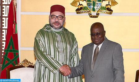 SM el Rey y el Presidente Ghanés se pronuncian a favor de una verdadera asociación económica bilateral (Comunicado Conjunto)