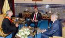 SM el Rey recibe al presidente de Boeing Commercial Airplanes