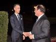 SM el Rey ofrece una cena en honor del ex presidente francés François Hollande presidida por SAR el Príncipe Heredero Moulay El Hassan