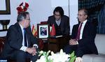 Los ministros del Interior de Marruecos y de España mantienen reunión de trabajo en Rabat