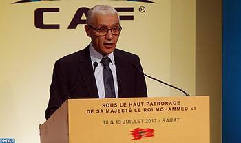 """SM el Rey dirige un mensaje al simposio internacional bajo el lema """"Fútbol africano, nuestra visión"""""""