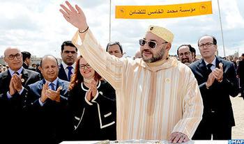 SM el Rey lanza las obras de construcción de dos centros médicos de proximidad de la Fundación Mohammed V para Solidaridad