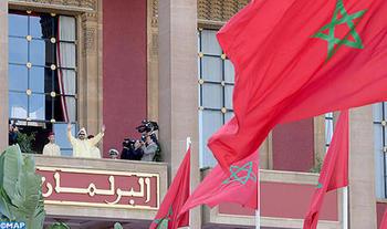 SM el Rey preside la apertura de la primera sesión del III año legislativo de la X legislatura