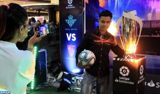 La asociación deportiva LaLiga promueve sus actividades en Casablanca