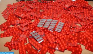 Detenidas siete personas e incautados más de 7.000 comprimidos psicotrópicos en Fez (DGSN)
