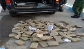 Incautados 86 kg de chira en Bab Sebta