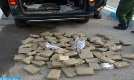 Detenidos en Fez tres individuos por posesión de más de 2 toneladas de chira (DGSN)
