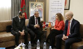 Benabdelkader examina con su homóloga española los medios de profundizar la cooperación en materia de Gobierno abierto