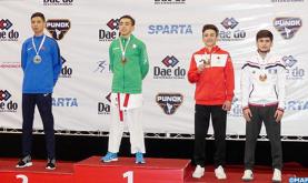 Mundial de kárate en Chile: el marroquí Abdelali Jina logra la medalla de plata
