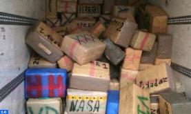 Puerto Tánger-Med: Incautación de más de 8 toneladas de chira en un camión de transporte internacional