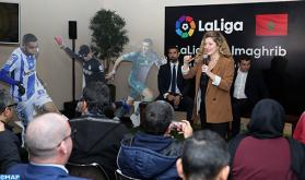 """""""LaLiga"""" promociona el fútbol español en Marruecos"""