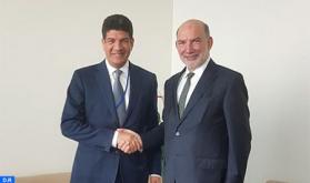 Bakkoury se reúne en Nueva York con el enviado especial de la ONU para la Cumbre sobre el Clima