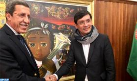 El presidente del Consejo ejecutivo de la UNICEF, el marroquí Omar Hilale, de visita de trabajo en Colombia