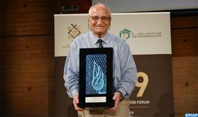 El profesor marroquí Rachid Yazami recibe en París el Premio del Inversor Árabe