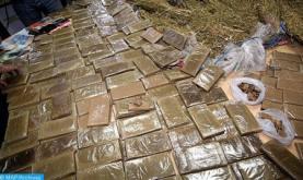 Incautadas en Tetuán cerca de dos toneladas de droga