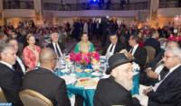 """SAR la Princesa Lalla Hasnaa preside en Los Ángeles una Cena de Gala que honra a la Dinastía Alauí como """"Dinastía de la Tolerancia"""""""