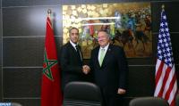 Abdellatif Hammouchi se entrevista con el secretario de Estado estadounidense