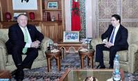Nasser Bourita se entrevista con el secretario de Estado estadounidense Michael Pompeo