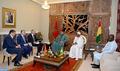 Entretiens à Conakry entre SM le Roi et le président guinéen