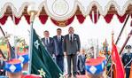 Cérémonie d'accueil officiel à Rabat de SM le Roi Abdallah II de Jordanie
