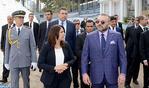 Casablanca : SM le Roi lance le projet de réaménagement et de valorisation du parc du vélodrome d'Anfa