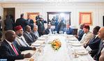 Le Président ivoirien offre un déjeuner officiel en l'honneur de SM le Roi