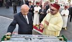 """SM le Roi inaugure l'avenue """"Abderrahmane Youssoufi"""" à Tanger"""