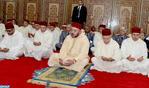 SM le Roi, Amir Al Mouminine, accomplit la prière du vendredi à la mosquée Al Imane à Casablanca