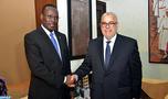 Abdelilah Benkirane s'entretient avec le Premier ministre Chef du gouvernement du Burkina Faso