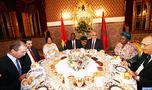 Abelilah Benkirane préside à Rabat un diner offert par SM le Roi Mohammed VI en l'honneur du Premier ministre chef du gouvernement burkinabé et la délégation l'accompagnant