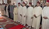Funérailles à Rabat du général de corps d'armée Abdelhak El Kadiri en présence de SAR le Prince héritier Moulay El Hassan